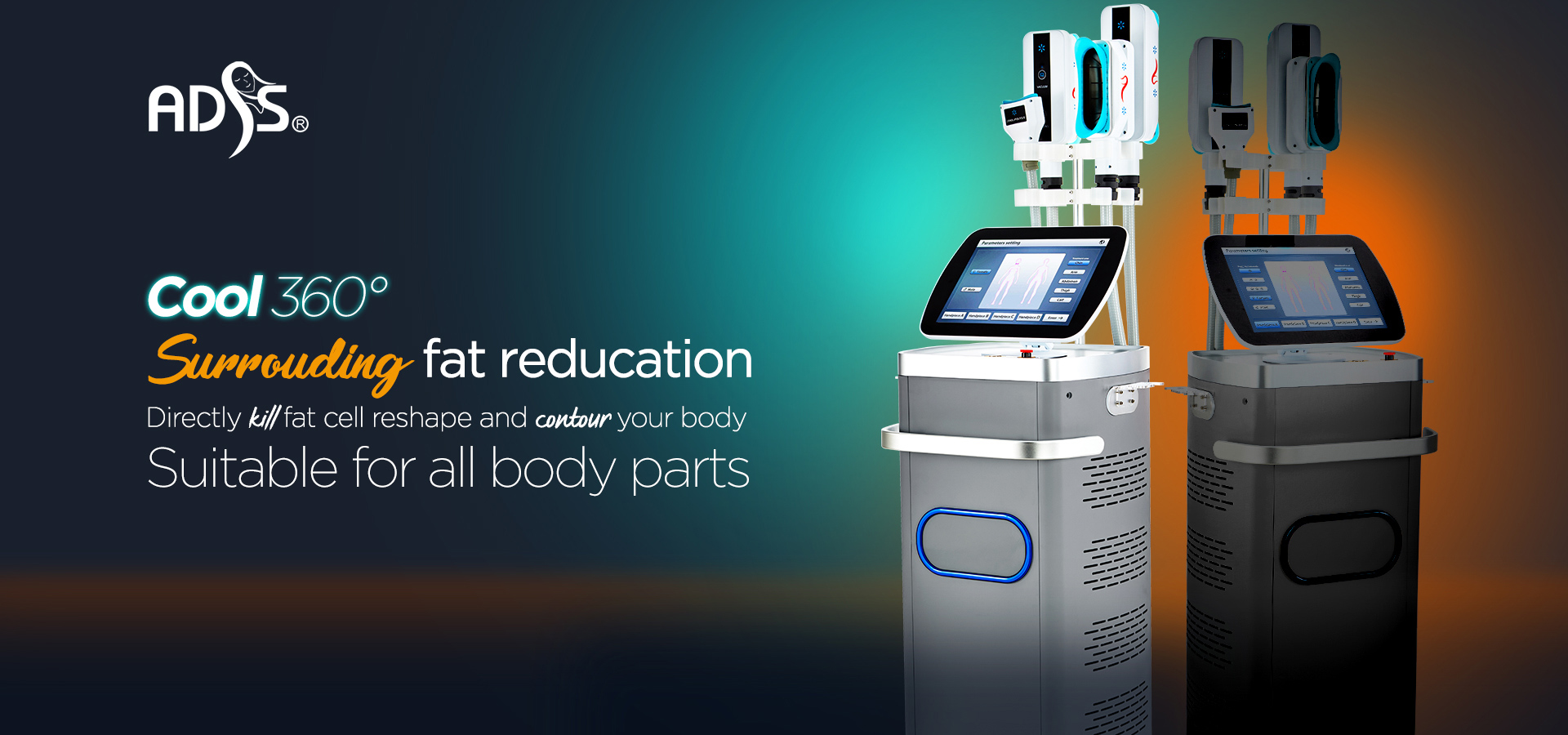 Cool 360° Cooling Cryolipolysis Machine