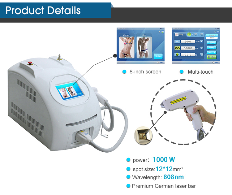 Portable Laser Hair Removal Machine images