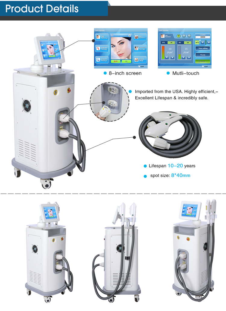 Medical IPL Laser Hair Removal