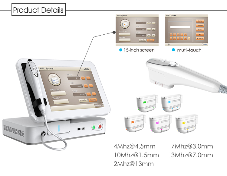 HIFU Facial Wrinkle Removal System