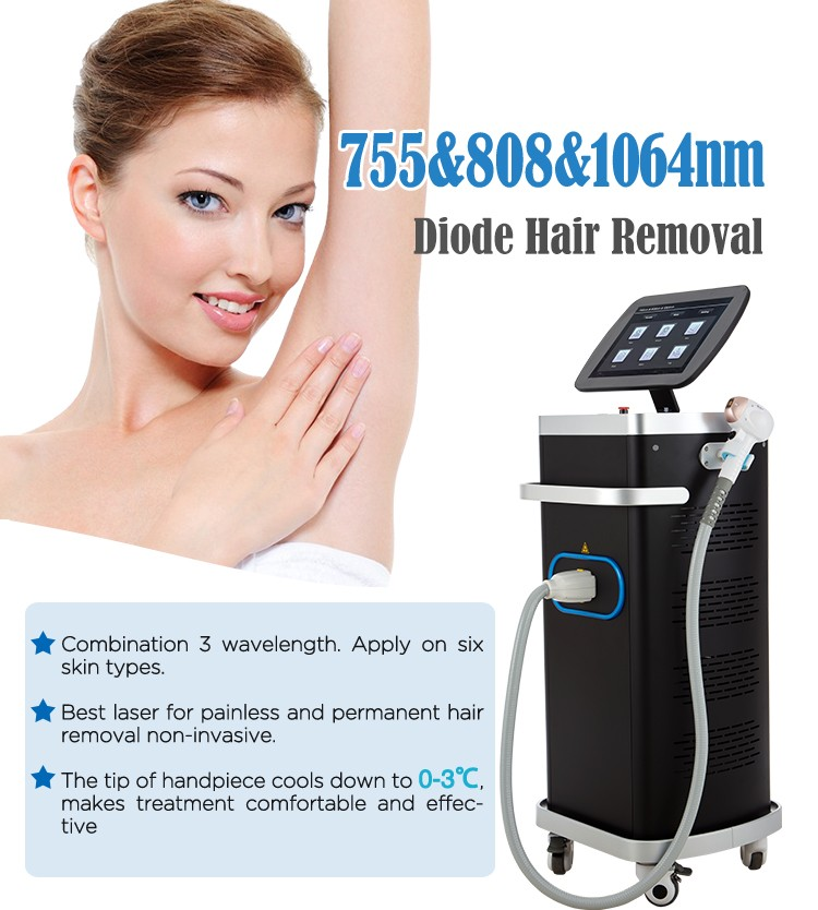 Laser Hair Removal Equipment for Beauty Salon